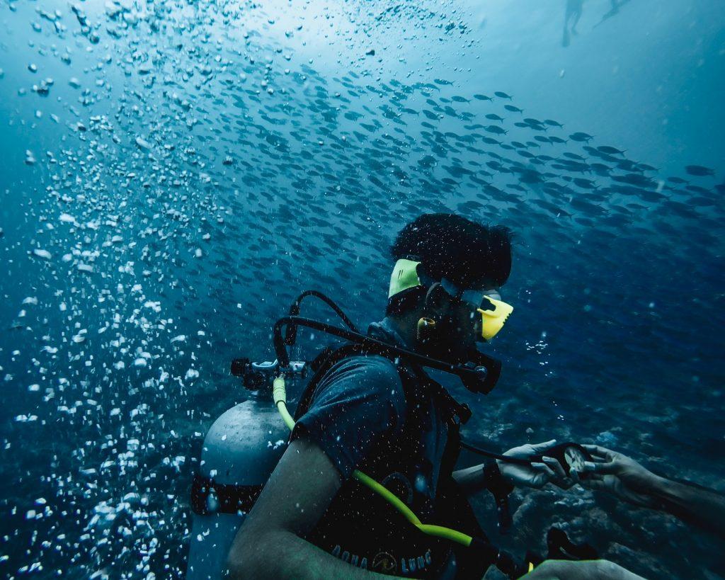 kovalam scuba diving