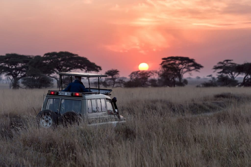 Serengeti national parks in Africa